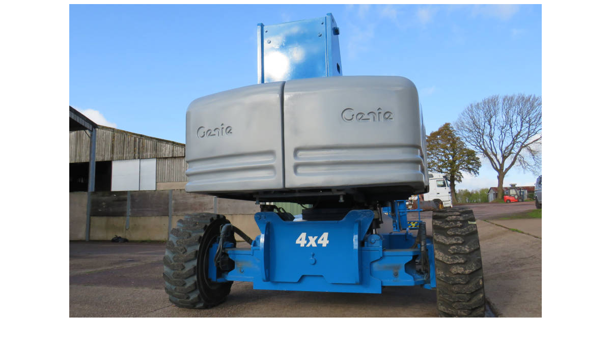 Image of 2006 Genie S-85 4WD Straight boom.