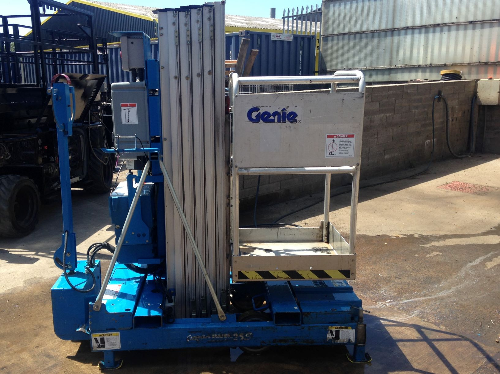 An image of Genie IWP25S with power wheel £2250 +VAT goes here.
