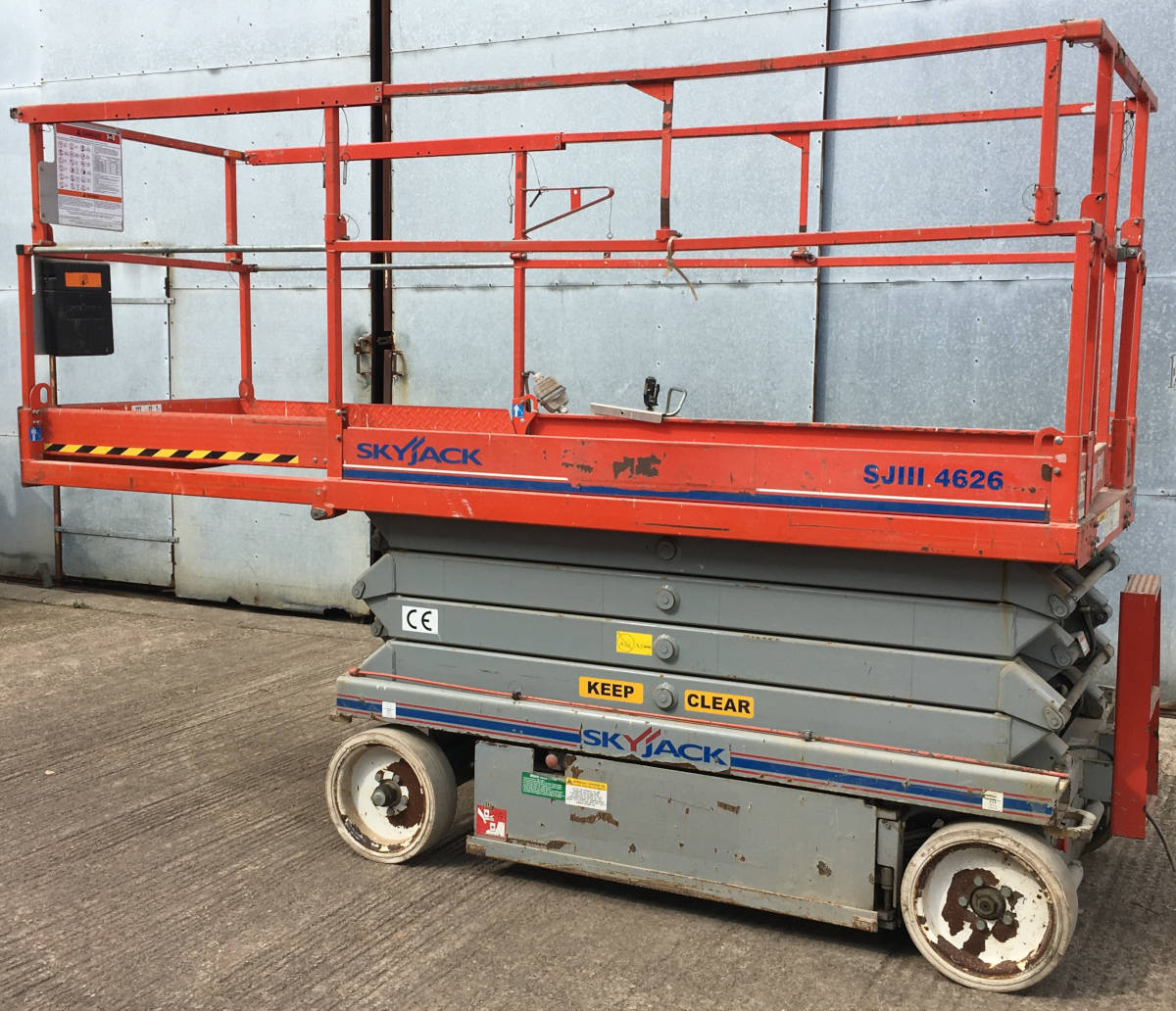 Image of Skyjack SJ 4626 Access Platform 8mtr Electric Scissor Lift