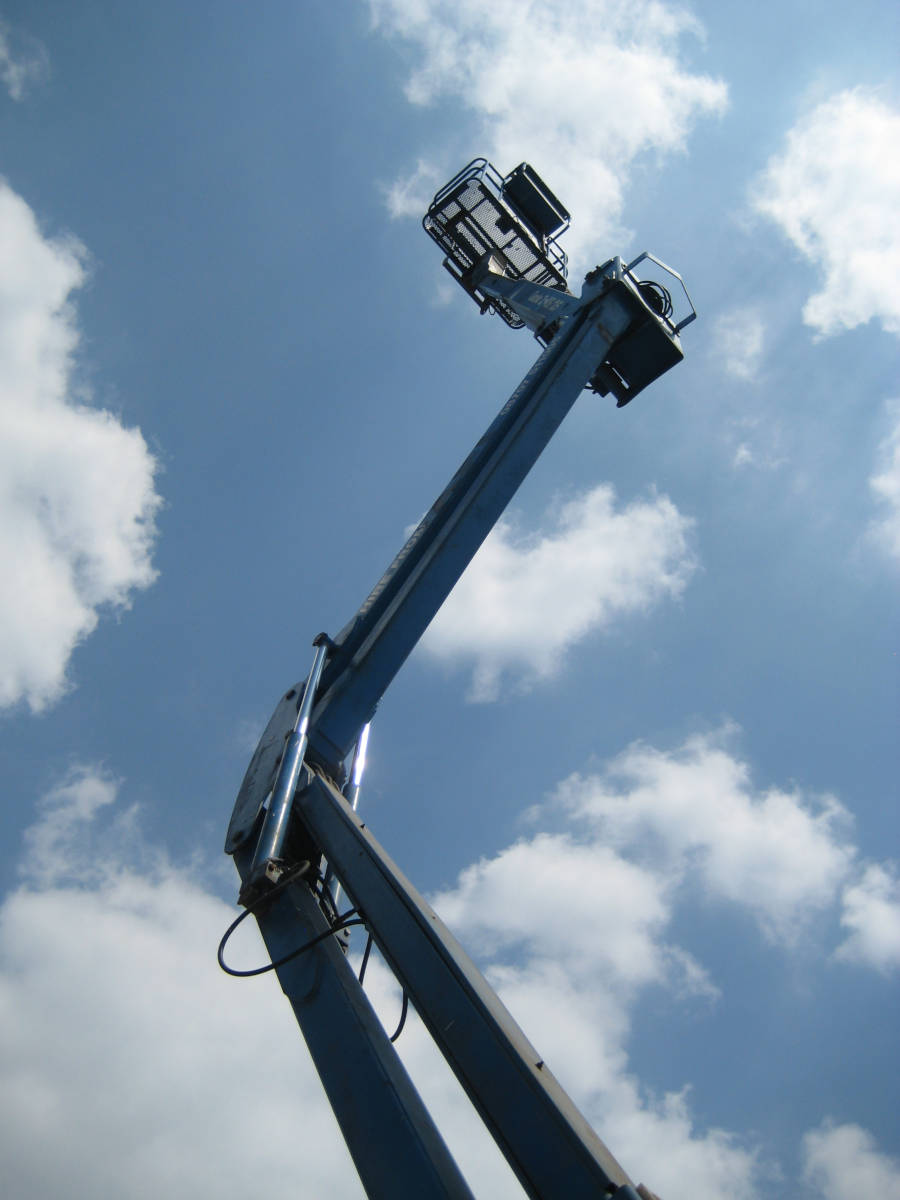 Image of See images of our articulated boom access platforms here.