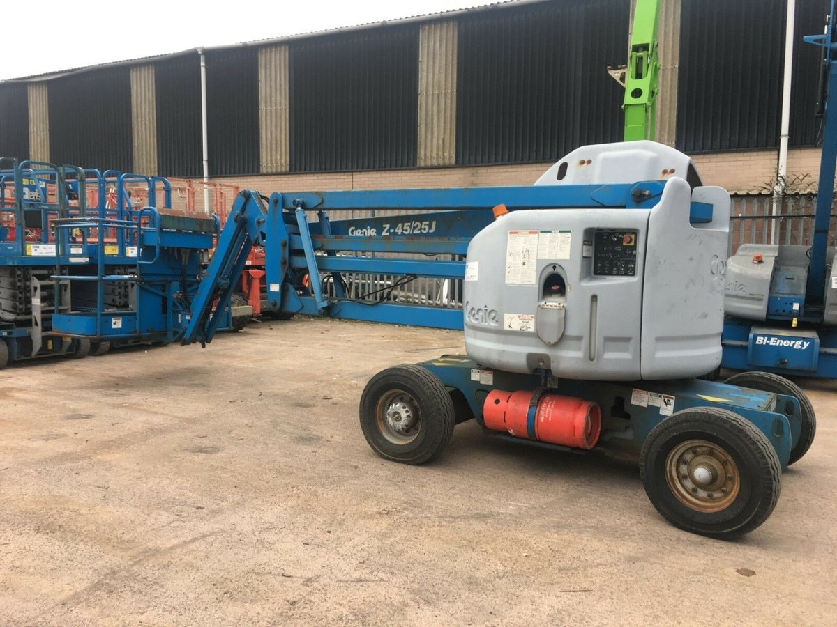 Image of Genie Z45/25 LPG boom lift access platform cherry picker MEWP