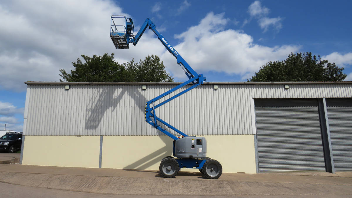 Image link to the 10 images in this category, Articulating Boom Lift category: 10 Images