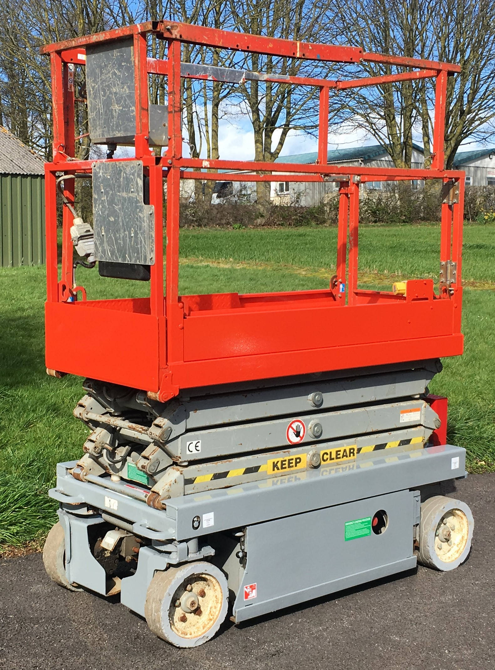 image of SJ3219 Access Platform Scissor Lift MEWP